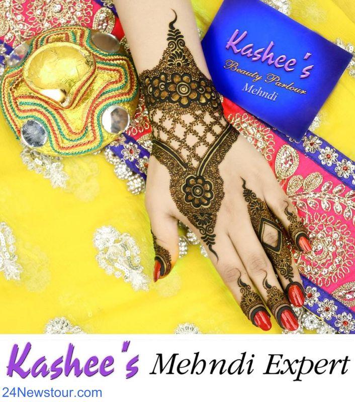 Latest Kashee's  EID Mehandi Designs Collection 2017