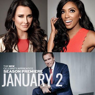 Kyle Richards And Porsha Williams Are Ready To 'Battle' On 'The New Celebrity Apprentice' — Watch Promotional Trailer HERE!