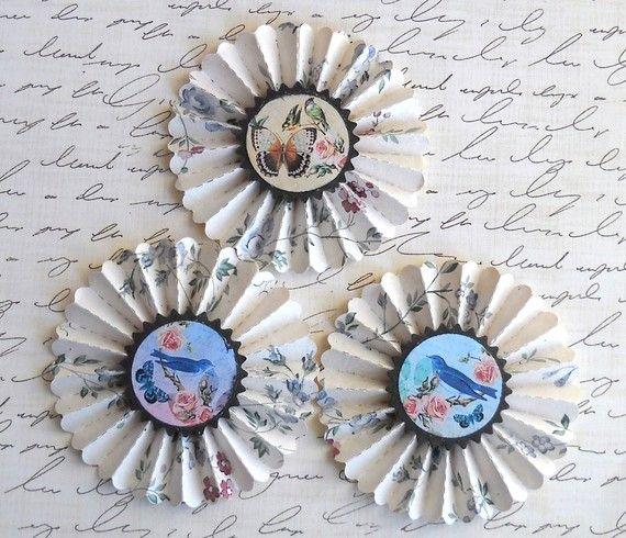 wallpaper rosettes