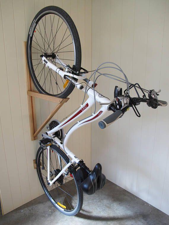 A Beautiful Bespoke Bike Rack Australian Designed And Built To Safely Store Your Road Bike Commuter Bike Or F Bike Storage Diy Diy Bike Rack Bike Rack Garage