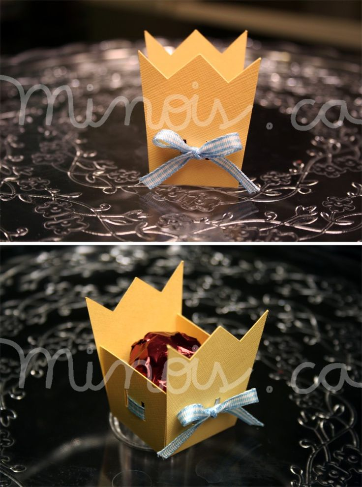 Minois - Forminha Coroa - Pequeno principe
