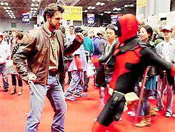 Deadpool at Comic Con