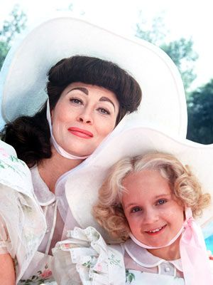 Mommie Dearest-I saw this movie when I was about 8yrs old and I still live in fear of metal hangers!