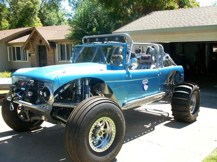 1968 CUSTOM EARLY 4X4 VINTAGE FORD BRONCO