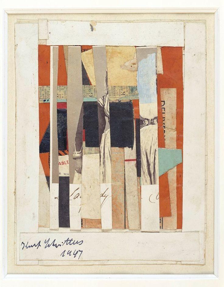 Kurt Schwitters, Untitled, 1947  http://www.justleds.co.za