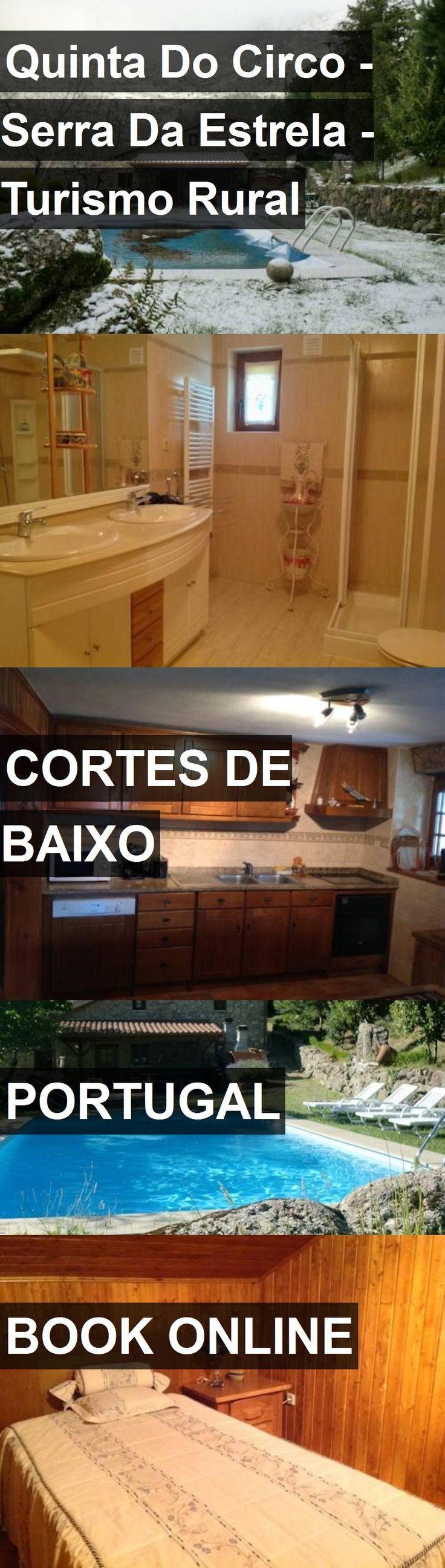 Hotel Quinta Do Circo - Serra Da Estrela - Turismo Rural in Cortes de Baixo, Portugal. For more information, photos, reviews and best prices please follow the link. #Portugal #CortesdeBaixo #QuintaDoCirco-SerraDaEstrela-TurismoRural #hotel #travel #vacation