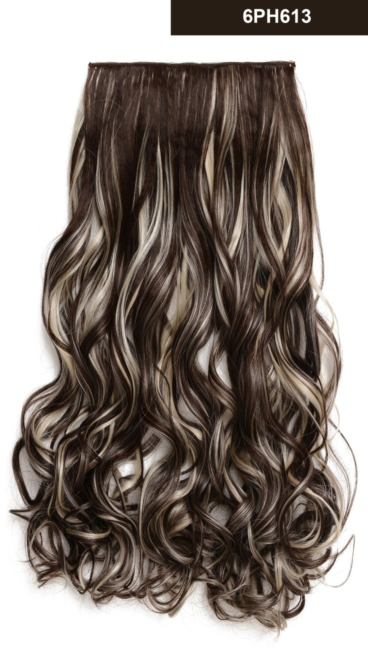 67 best onedor hair extension images on pinterest brown 20 curly 34 full head synthetic hair extensions clip onin hairpieces pmusecretfo Image collections