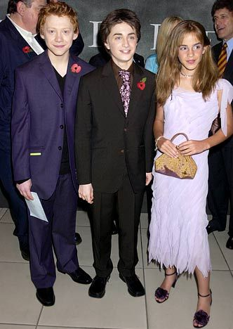 November 3, 2002  At the Harry Potter and the Chamber of Secrets premiere in London