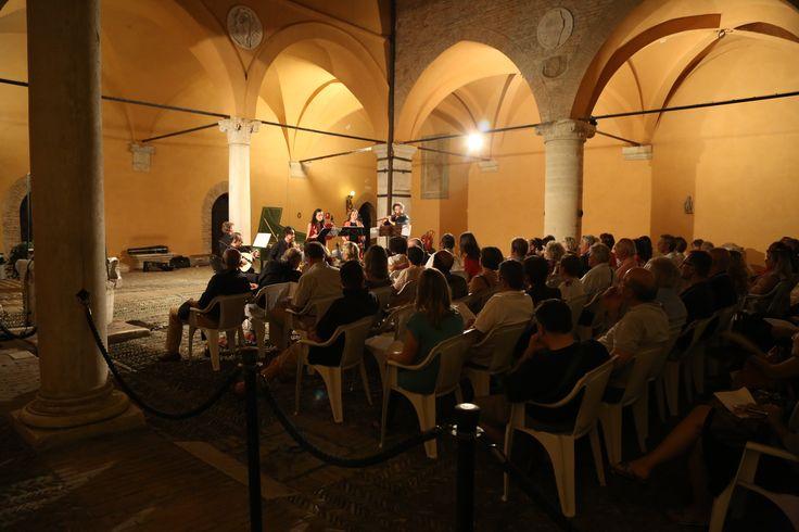 Concerto Carmina Burana nel Cortile d'Onore del Castello di Gradara