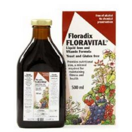 Floradix Floravital provides delicious & easily absorbed organic iron plus vitamins & herbs. Floradix Floravital assists people with sensitivities to gluten, yeast and lactose.