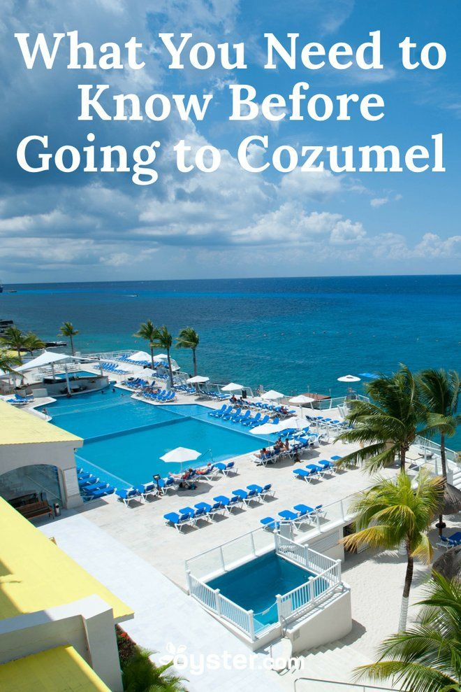 Vacation in Cozumel, and odds are you'll go home utterly relaxed and with memories of spectacular scenery and friendly people. A 34-mile-long by 11-mile-wide island of Mexico, Cozumel is quite unlike its neighbor, Riviera Maya. It's largely undeveloped, with expanses of jungle and untouched shoreline. Here are 11  things every traveler should know before setting off for Cozumel.