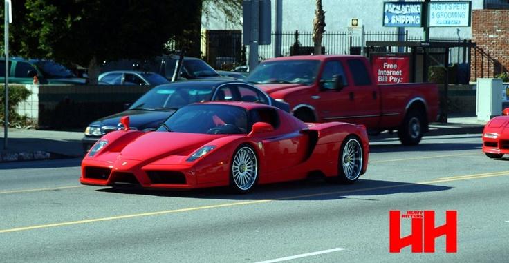 Ferrari Enzo. Fierce, Beautiful, Raw.