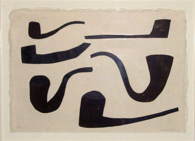Klaas Gubbels... ( reminds me of Rene Magritte )