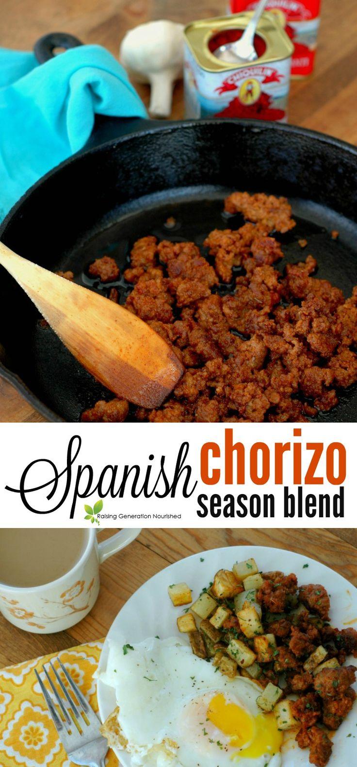 Spanish Chorizo Season Blend