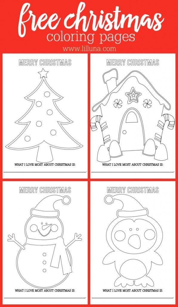 Free Christmas Coloring Page Weihnachten Basteln Weihnachten Weihnachtsideen