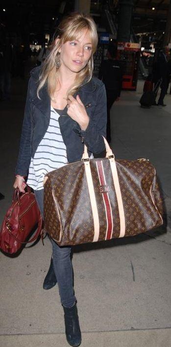 Jeans – Paige, Purse – Prada, Shoes – Modern Vintage, Bag – Louis Vuitton (2010)