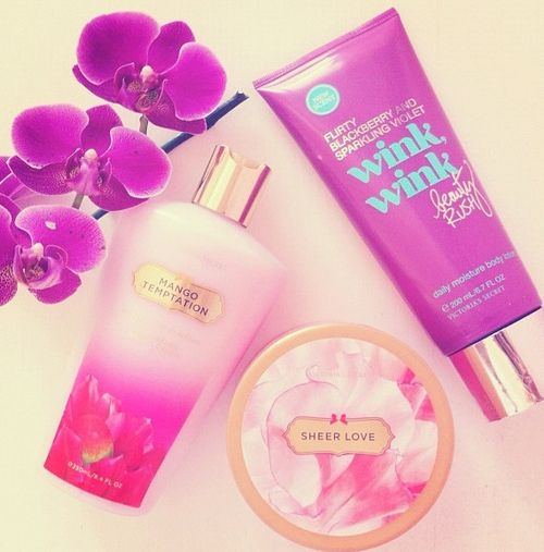 Victoria secret body butter and lotions
