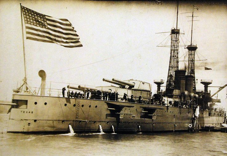 USS Texas (Battleship #35), May 11, 1915. George C. Bain Collection. Courtesy of Library of Congress.