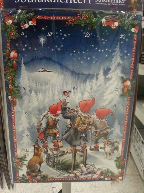 Juuri tällainen joulukalenteri