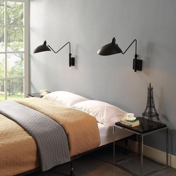 Careen modernism diligently forward with the Serge Mouille Style Wall Lamp/Sconce. Perfect for mid-century modern or contemporary environments.