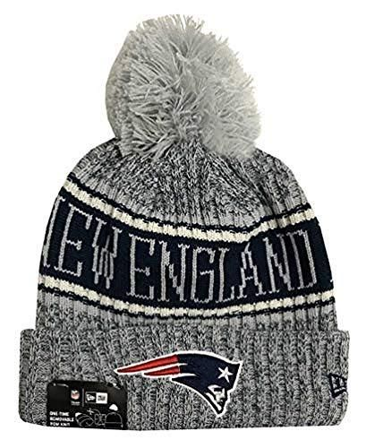 5a2b58f5f43 New Era 2018 NFL New England Patriots Reverse Sport Stocking Knit Hat –  Videos.Images