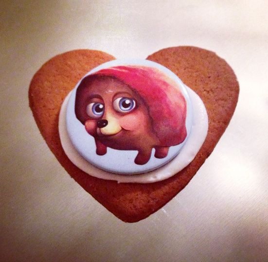 Hedgehog cookie! Play #PetRescueSaga now --> to.king.com/5ykc