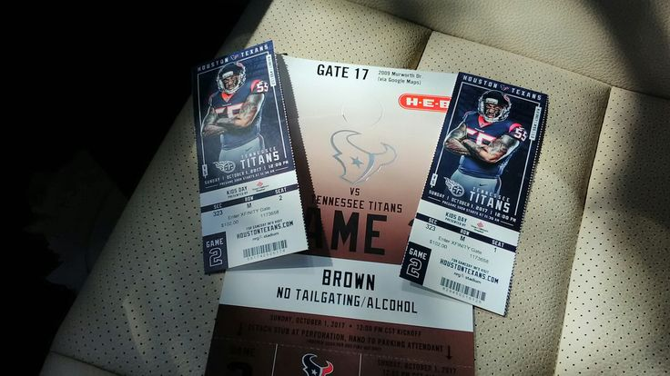 Going to the Texans Game!