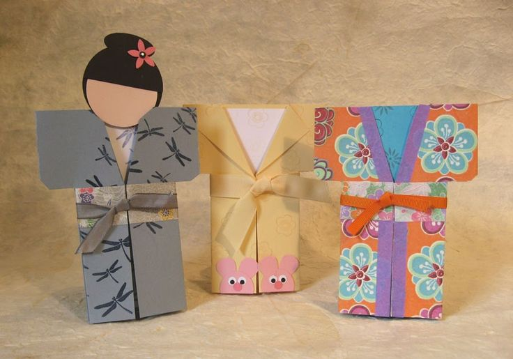 Michelle's Rubber Room: How to Make a Kimono Card