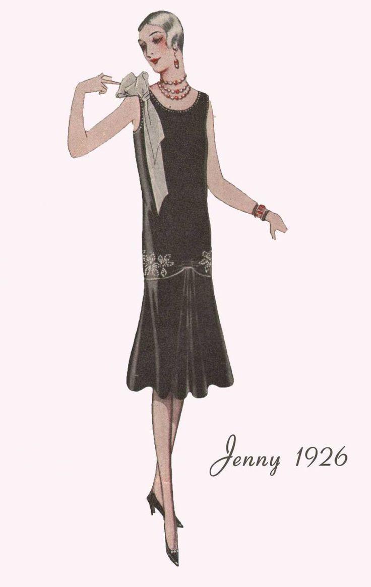 Fashion #Vintage # Fashion-News-15er --- Evening-Frocks-for