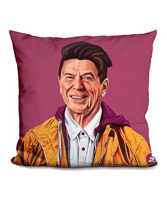 Amit Shimoni Reagan Throw Pillow