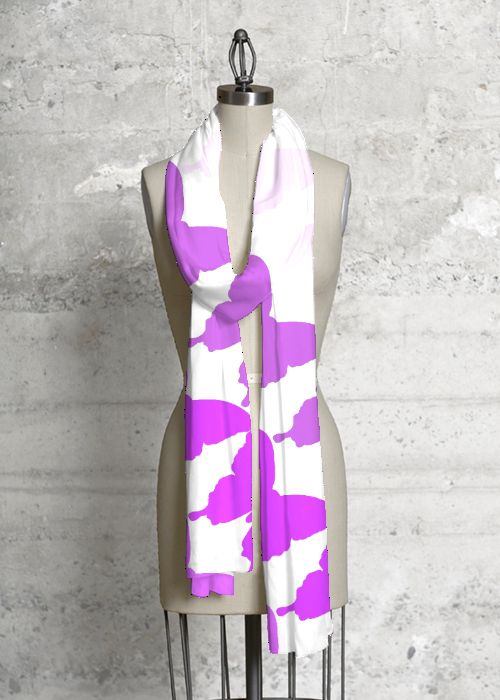 Modal Scarf - Absence makes heart grow. by VIDA VIDA BLohrFnyXQ
