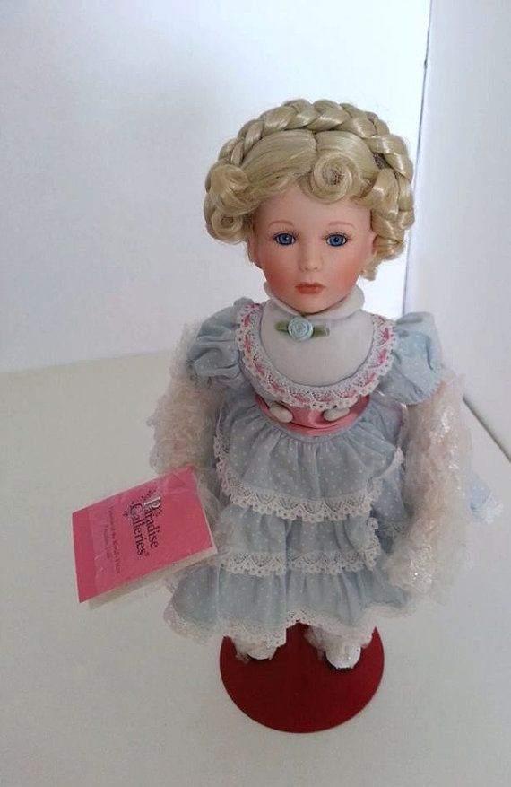 Vintage Paradise Galleries Porcelain Doll By Rosieshut On