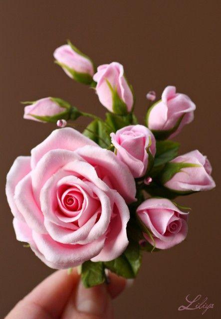 **Liliya** - На розовую свадьбу- розовые розы