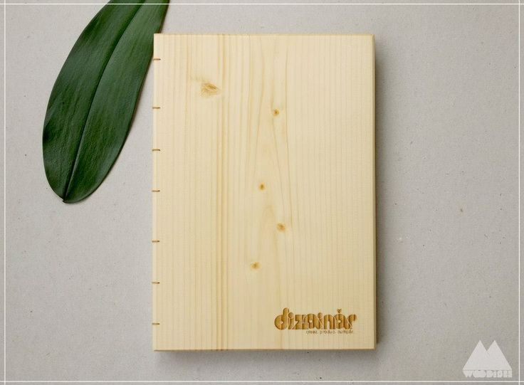 Testimonials book, by Woodish