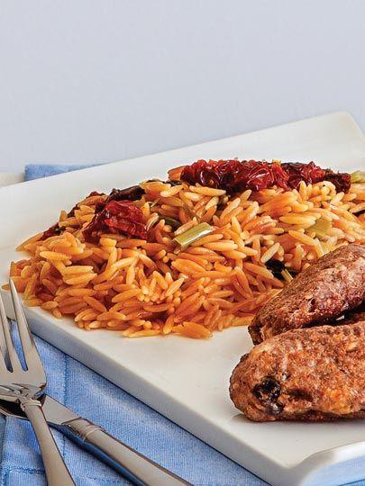Kuru domatesli şehriye pilavı Tarifi - Türk Mutfağı Yemekleri - Yemek Tarifleri
