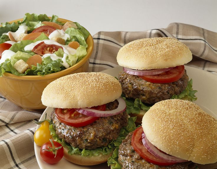 how to make ranch burgers in the oven