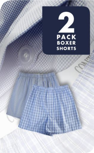 Contare 2 Pack Boxer Shorts http://contare.com.au/