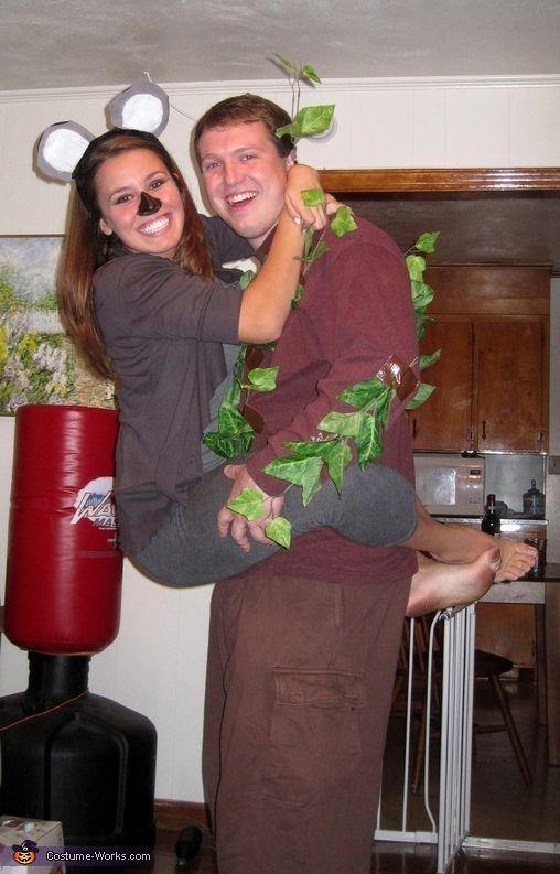 koala and tree costume - Famous Duos Halloween