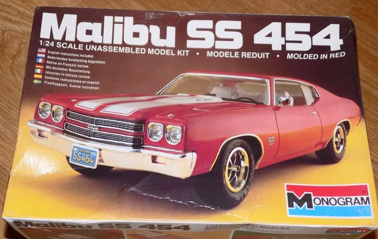 Complete, Sealed 1983 Monogram Model Kit of Chevy Malibu SS 454 Car 1/24 Scale by XtraThings on Etsy