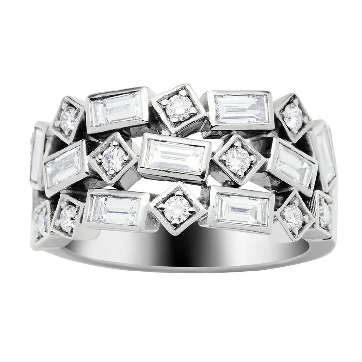 18CT DIAMOND GRETA RING