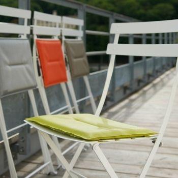 Istuintyyny Bistro Metal tuolille, steel grey