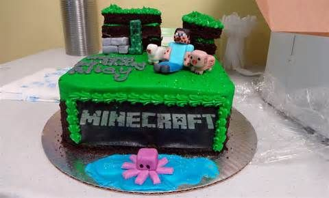 Minecraft Cakes For Sale Uk