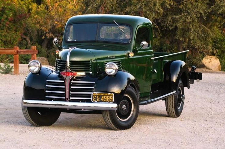 "1939-1947 Dodge ""Job Rated"" Trucks"