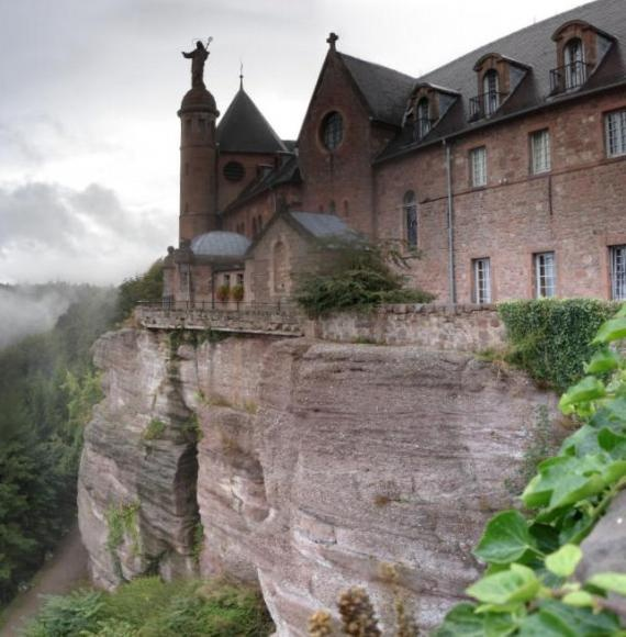 In 2003, Stanislas Gosse admitted to the theft of over 1000 ancient and rare books from a locked private library in a monastery perched 2500 feet up in the Vosges mountains in France. In order to accomplish this feat he climbed exterior walls and hidden stairways into a long forgotten medieval passageway with secret access behind library cupboards. . . He was a local teacher who stumbled across a map to the secret passages in the city archives and couldn't resist the thrill.