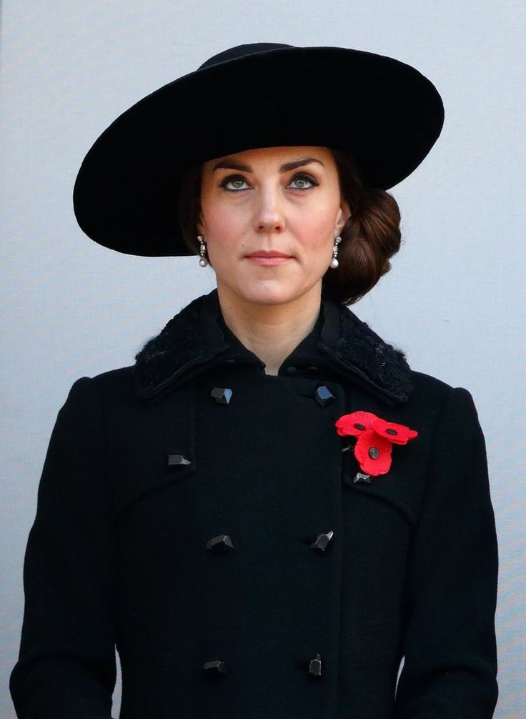 Kate Middleton at the annual Remembrance Sunday Service on Nov. 13, 2016