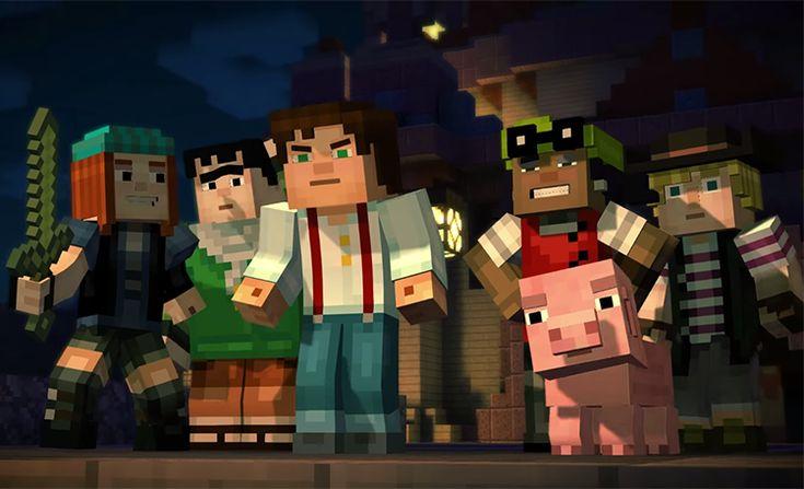 Minecraft: Story Mode   Primeiro Episódio do Jogo Tornou-se Gratuito!