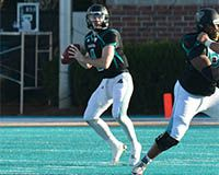 Coastal Carolina quarterback Alex Ross was named to the 2015 CoSIDA Academic All-America Division I Football Team; he was a second team selection and becomes the 31st Chanticleer to earn the prestigious honor.