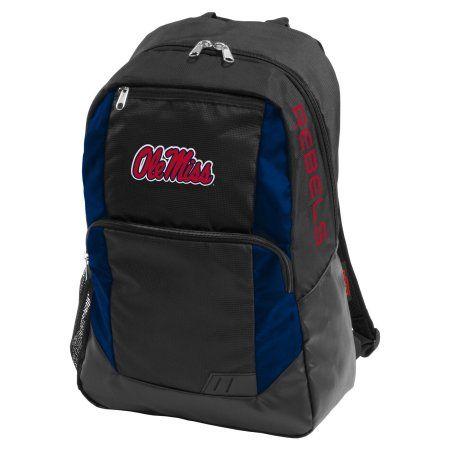 Logo Ncaa Ole Miss Closer Backpack, Black