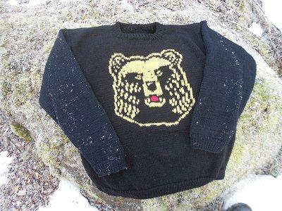 karhu pusero (bear sweater)