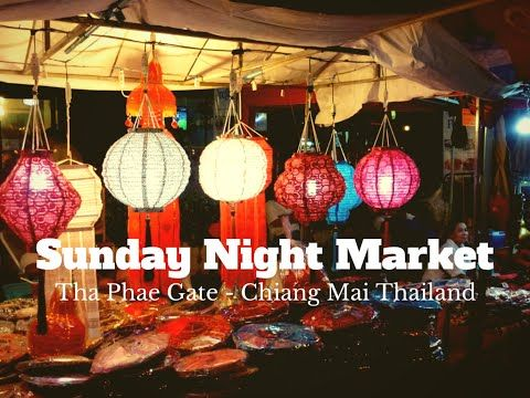 Sights, Sounds & Smells Of The Sunday Night Market Chiang Mai Wagoners Abroad